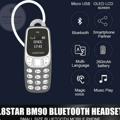 Smallest Mobile Phone L8Star BM90 Tiny Mini Mobile BLACK UNLOCKED UK STOCK FASTP