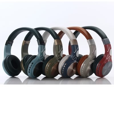 Bluetooth BT1607 Headphones Wireless Supports TF Card For Mobile Computer Tablet Heavy Bass Folding Portable Adjustable