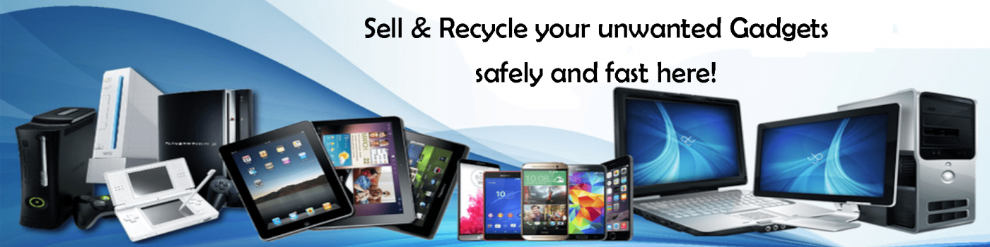 banner sell your gadgets