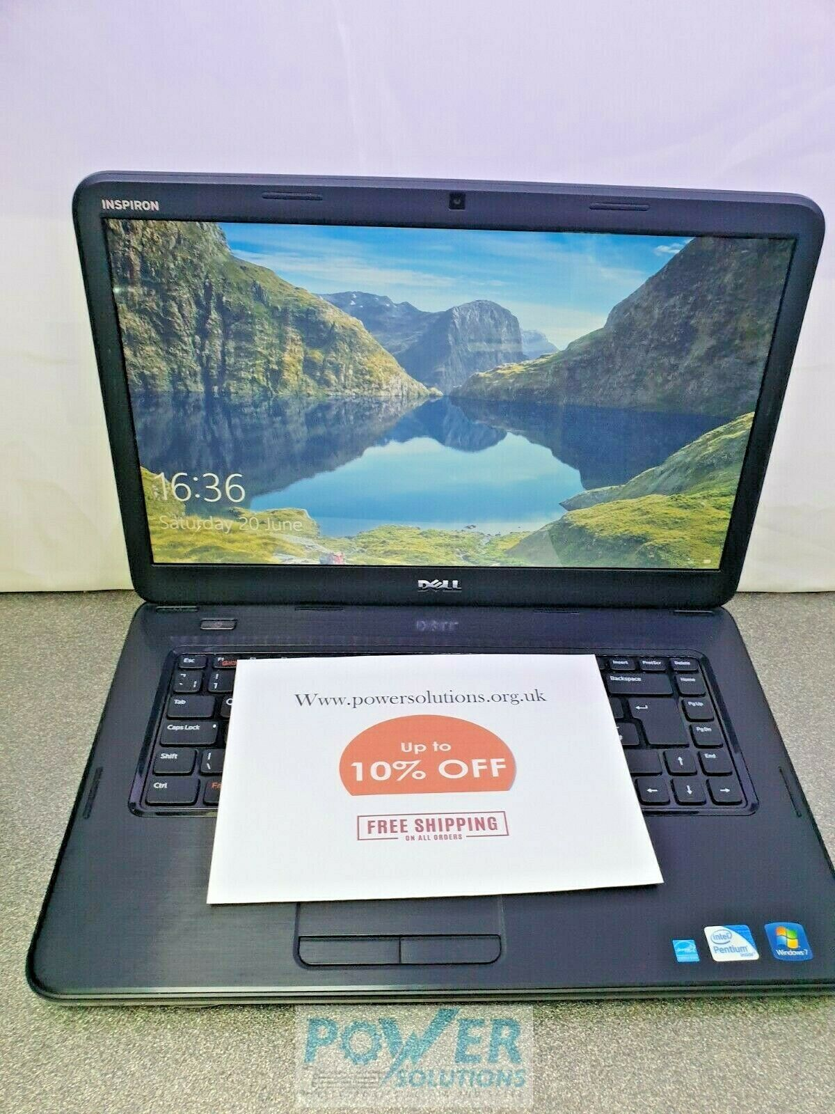 Dell Inspiron 15 5040 156 WINDOWS 10 3GB 320GB LAPTOP 133445654861