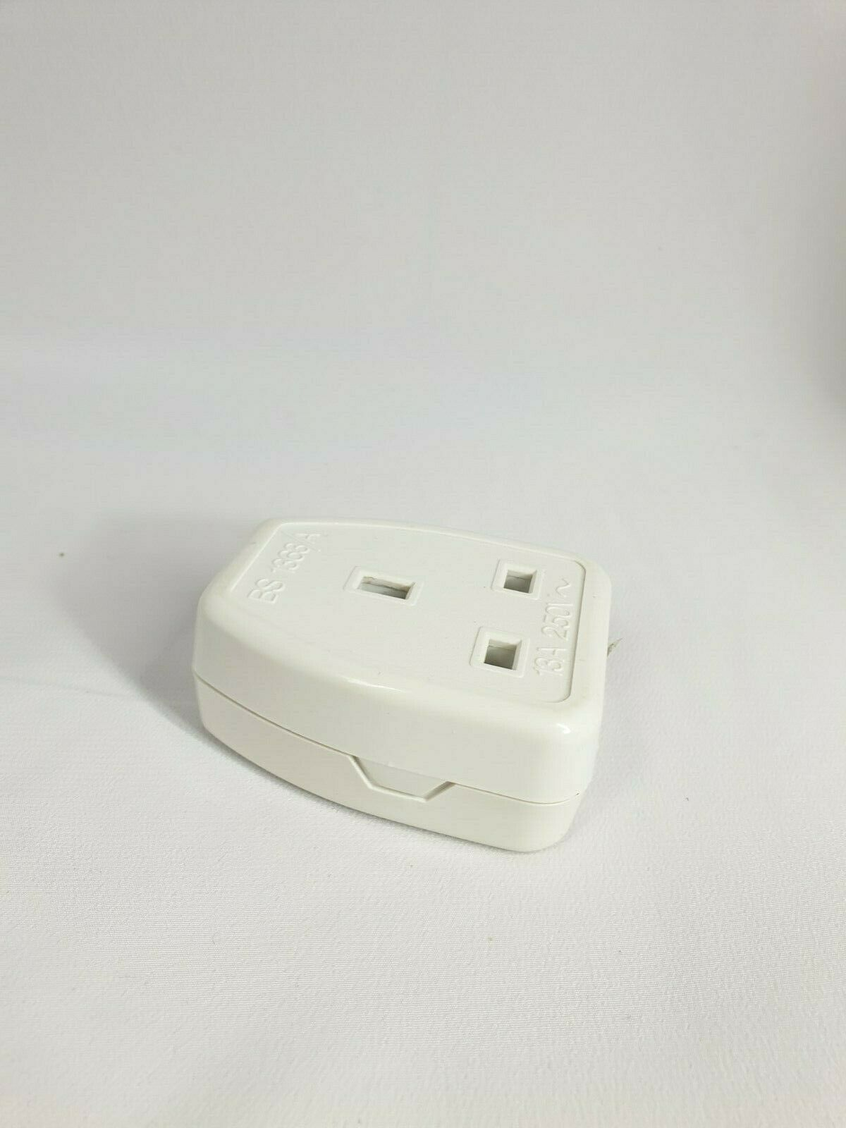Extension Lead Socket End Single Gang Socket 13Amp 250V 2PCS 143618609321