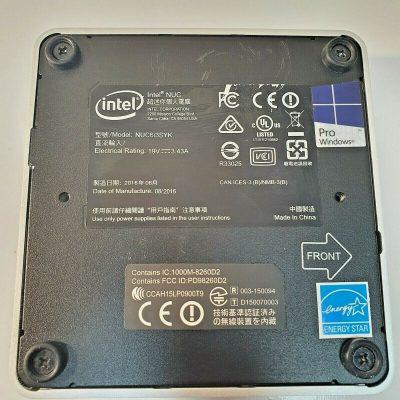 Intel NUC Kit NUC6i3SYK i3 6100U 23GHz 6th gen 8GB RAM 120gb ssd 4K minipc 133563784241 4
