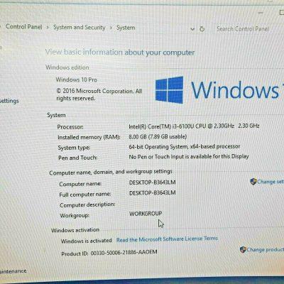 Intel NUC Kit NUC6i3SYK i3 6100U 23GHz 6th gen 8GB RAM 120gb ssd 4K minipc 133563784241 8