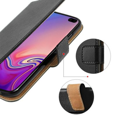 Case for Samsung Galaxy S10 S10 Plus Luxury Genuine Leather Wallet Stand Cover 143199740833 3
