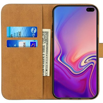 Case for Samsung Galaxy S10 S10 Plus Luxury Genuine Leather Wallet Stand Cover 143199740833