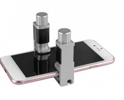 Adjustable Metal Clip Fixture Screen Fastening Clamp for Smart Phone tablet 4pc 133103943144 2