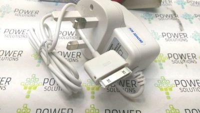 UK Wired Mains Charger Wall Plug Adapter for Apple iPhone 4 4S 4G 3GS 3G iPad 132403827525