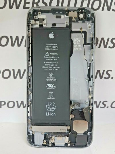 IPHONE 6S CHASSIS ORIGINAL SILVER FRAME BODY 133302809087