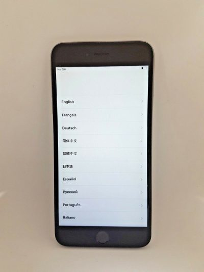 IPHONE 6S PLUS LCD GENUINE PART BLACK 143087519739