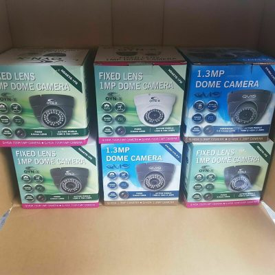 JOBLOT 9pcs OYN X 1080P 4IN1 DOME CCTV CAMERA WIDE ANGLE GREY WHITE IR OUTDOOR 133104754829