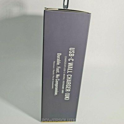 Otterbox 78 51747 Single Port USB C UK Plug Wall Charger Fast 3A 27W Black 143889500299 2